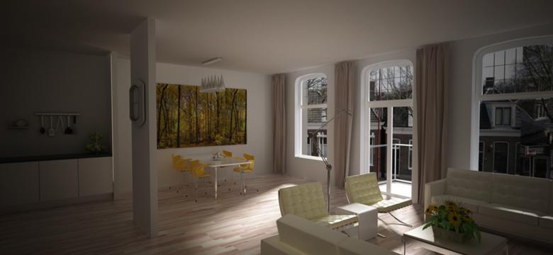 Modern interieurontwerp appartementen Friesland
