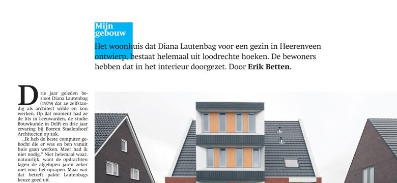 Friesch Dagblad, woning Heerenveen