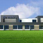 Restyling kantoor Franeker, De Metro bedrijfsverzamelgebouw