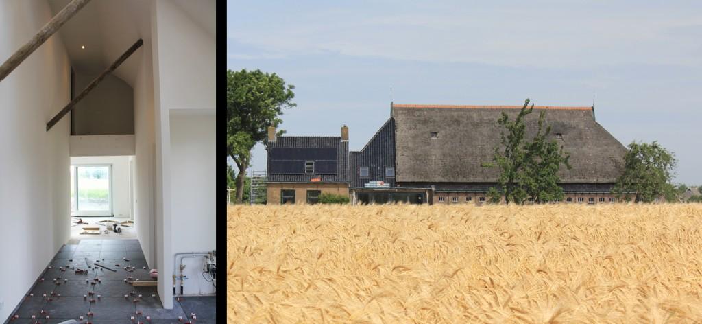 Boerderij Friesland verbouw