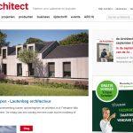 Publicatie Villa Hindeloopen in Dearchitect