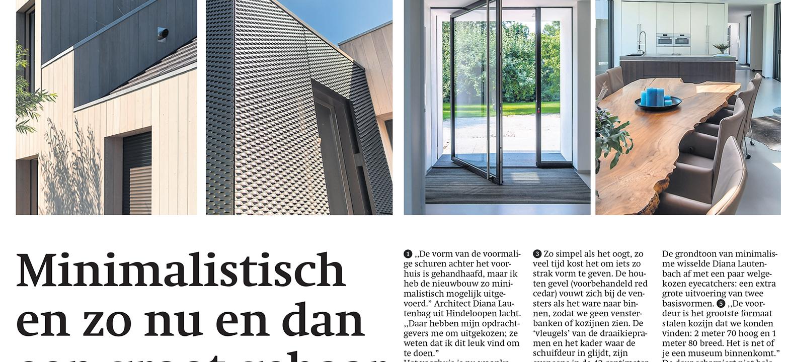 Friesch Dagblad, Villa Hindeloopen