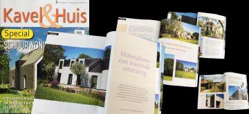 Publicatie Kavel en Huis Villa Hindeloopen, Architectuur Friesland, schuurwoning