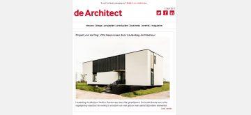 Publicatie project van de dag de Architect
