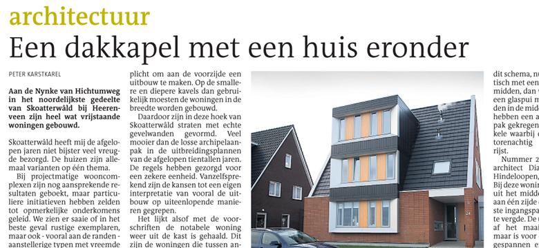 Leeuwarder Courant, woning Heerenveen