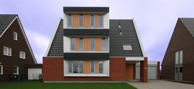 Vrije kavel architectuur Friesland