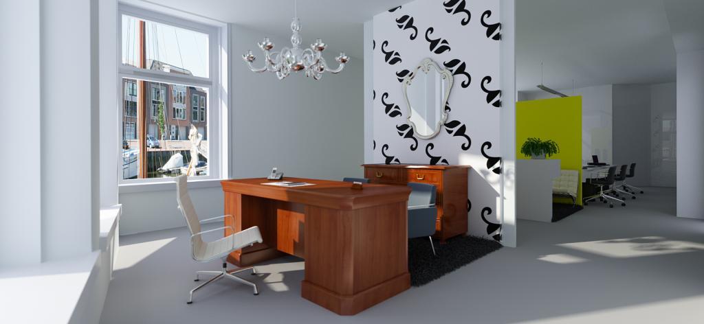 Interieur design kantoor Harlingen