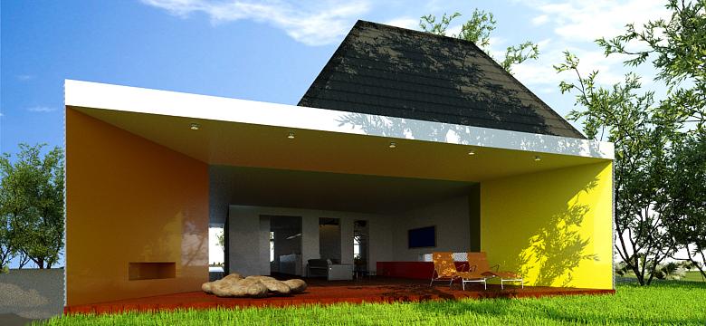 Uitbreiding woning Friesland, kleuren