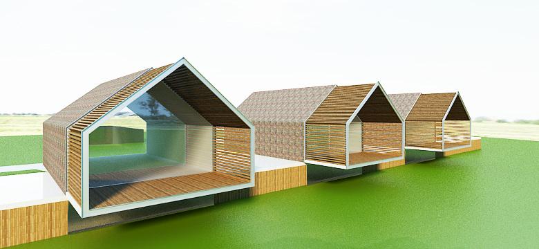 Architectuur schuurwoningen Friesland