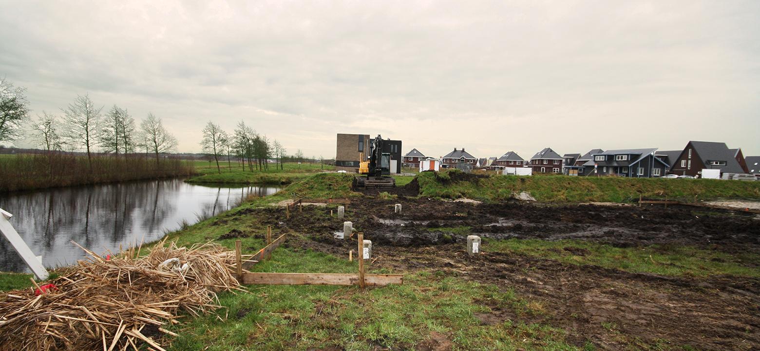 Nieuwbouw villa Heerenveen gestart