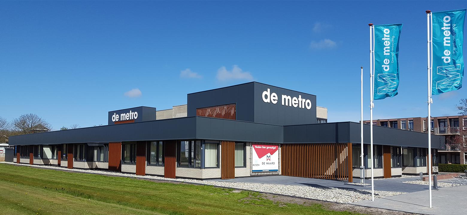 Bedrijfsverzamelgebouw 'De Metro'