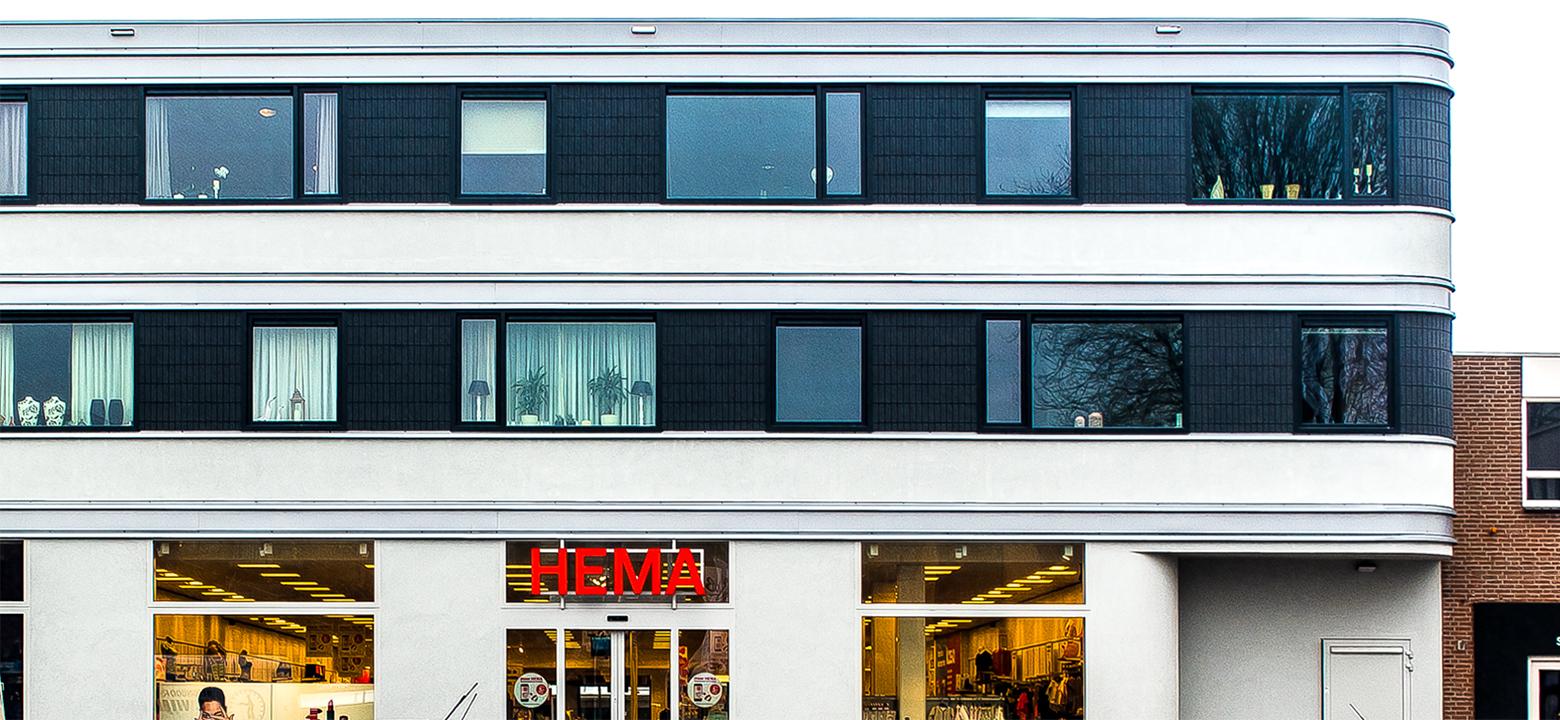 Storefront HEMA + 8 appartementen