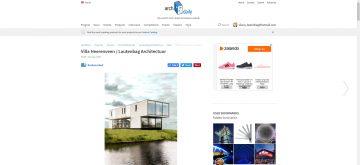 Archdaily Villa Heerenveen