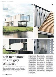 Publicatie moderne Villa Friesland