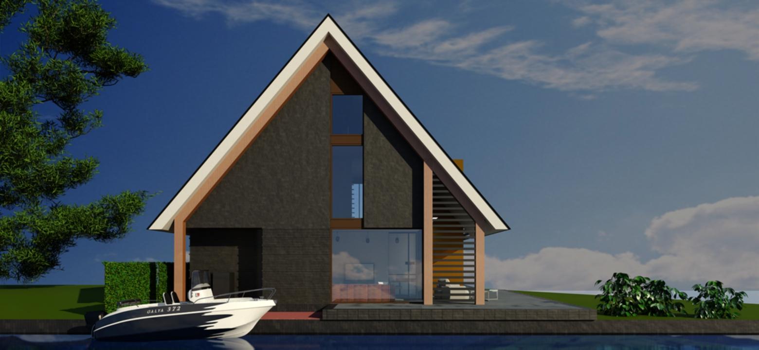 Architect woonboerderij, Woonboerderij Friesland